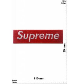 Supreme Supreme - rot/weiss