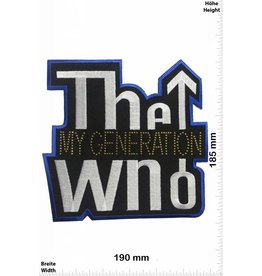 The Who THE WHO my Generation  -  BIG 19 CM