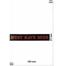 Beer MUST HAVE BEER - 18 CM