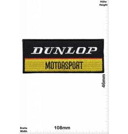 Dunlop Dunlop Mootorsport- schwarz -gold