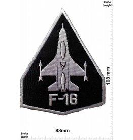 F 16 F16 schwarz - schwarz- -Düsenjet Jet Düsenflieger