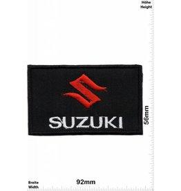 Suzuki Patch -S Suzuki -schwarz - schwarz
