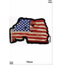 USA, USA Flagge USA - Flag USA - Oldschool-
