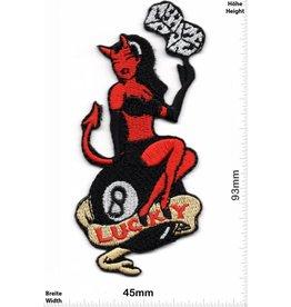 Lucky 8 Lucky 8 - red Devil Lady - Würfel