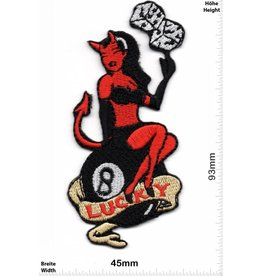 Lucky 8 Lucky 8 - rot Devil Lady - Würfel