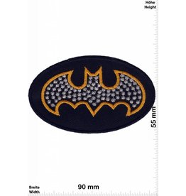 Batman Patch -Batman - gold - silver