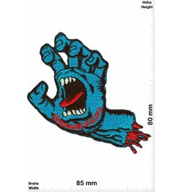 Santa Cruz Speedwheels - Santa Cruz Skateboards - blaue Monsterhand  - HQ