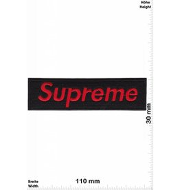 Supreme Supreme - red -black