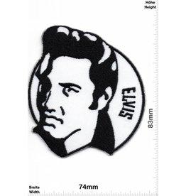 Elvis Elvis -  schwarz - weiss