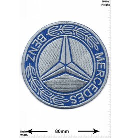 Mercedes Benz Mercedes Benz - silber blau