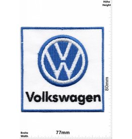 VW,Volkswagen VW - Volkswagen - white blue
