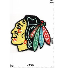 Chicago Blackhawks  Indians - Head - Chicago Blackhawks