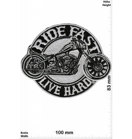 Live Free Ride Fast - Live Hard -  HQ