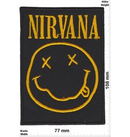 Nirvana Nirvana - Smiley - gold - BIG