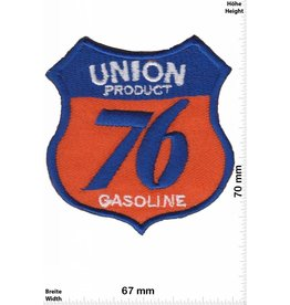 Union Union Product- 76 Gasoline - blau