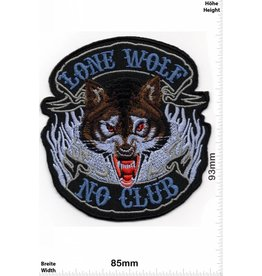 Lone Wolf Lone Wolf - No Club -  HQ