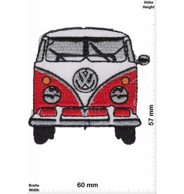 VW,Volkswagen VW Bus  - Bully  - red