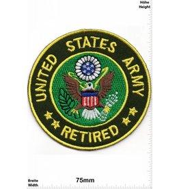 U.S. Navy United States Army - Retirot - USA Patch