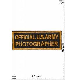 Marine Official U.S. Army Photographer - USA Army