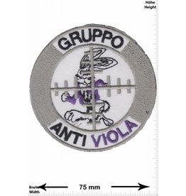 Gruppo Gruppo - Anti Viola - Fak Casino Salzburg - Ultras Hooligans - Abzeichen