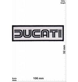 Ducati Ducati - schwarz -weiss - weiss - schwarz - Motorsport - Motocross - -