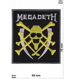Megadeth Megadeth - yellow