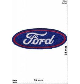 Ford Ford - Logo - blau- rot  - HQ