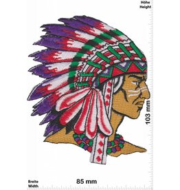 Indianer Indians - Chief - right -  HQ
