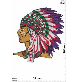 Indianer Indians - Chief  - left -  HQ