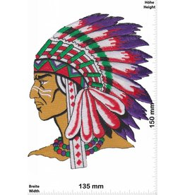Indianer Indians - Chief - BIG  - HQ