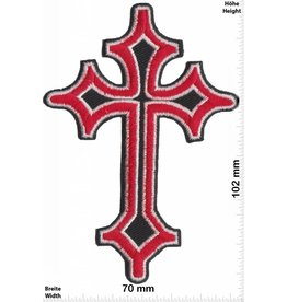Kreuz Crucifix - red