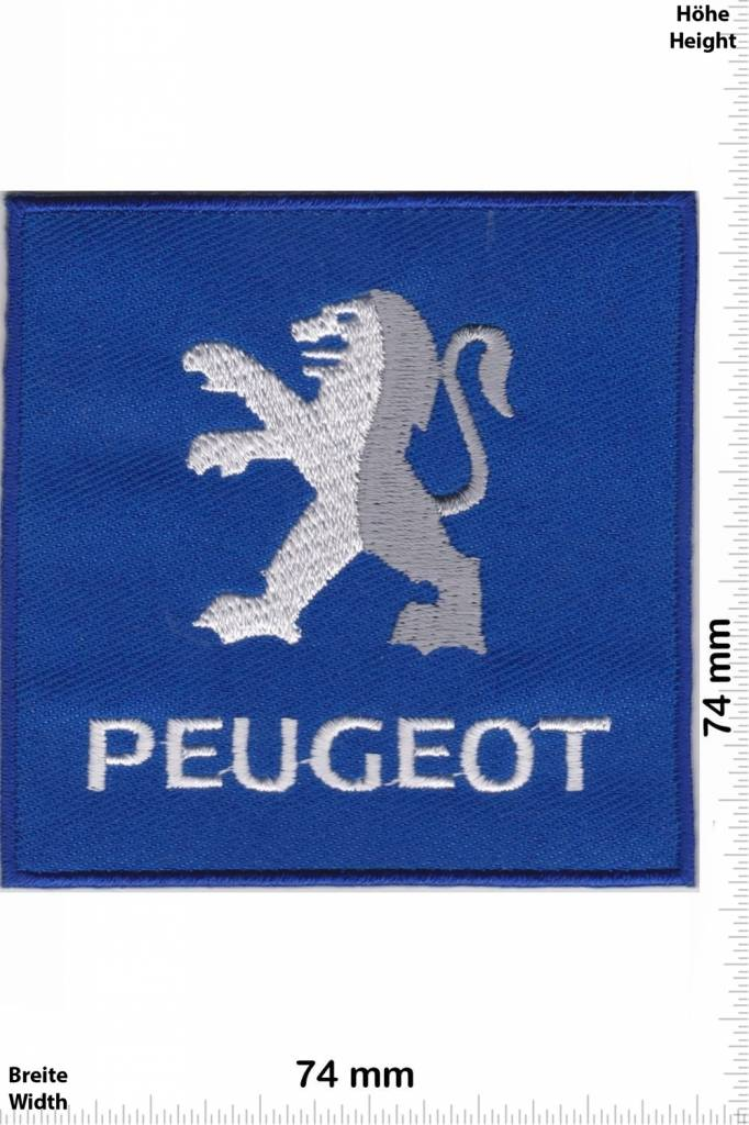Peugeot - Patch - Back Patches