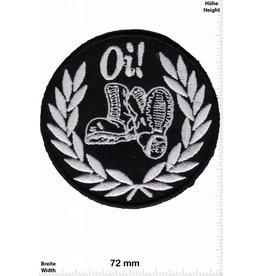 Oi Oi - Laurel wreath - Skinheads - Punk - combat boots