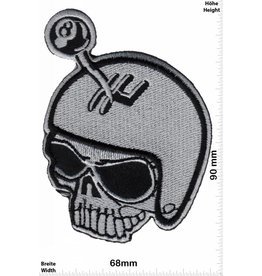 Lucky 8 Skull -  Lucky 8 - hot rod - gear shift -  HQ
