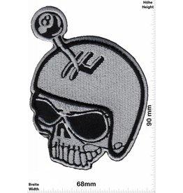 Lucky 8 Skull -  Lucky 8 - hot rod - gear shift -  HQ