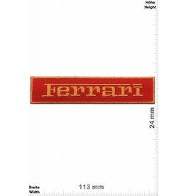 Ferrari Ferrari - gold - rot