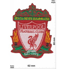 FC Liverpool  FC Liverpool - rot -  EST 1892  - The rots - Football Club - Uk Soccer - Fußball