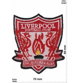 FC Liverpool  FC Liverpool - rot - You'll never walk alone  - The rots - Football Club - Uk Soccer - Fußball