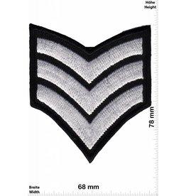 Sergant 3 Stripes - silver -  Sergant