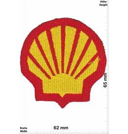 Shell SHELL - rot -gold  - Muschel