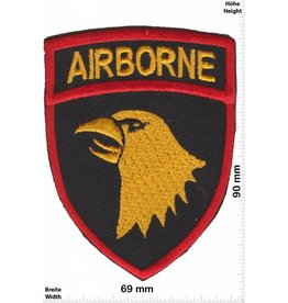 U.S. Air Force Airborne - United States Army Special Forces Command - golden bird - red gold