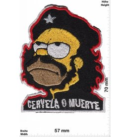 Simpson Homer Simpson -  cerveza o muerte