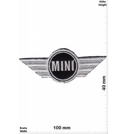 Mini Cooper Mini Chopper - Logo - NEW -silver