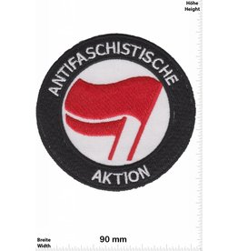 ANTIFASCHISTISCHE AKTION ANTIFASCHISTISCHE AKTION  - rund - HQ