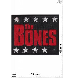 The Bones the BONES -  Punk 'n' Roll-Band - red