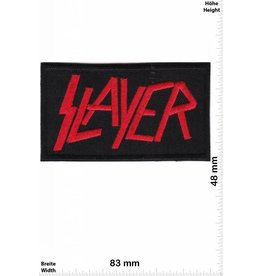 Slayer Slayer - red - Thrash-Metal-Band