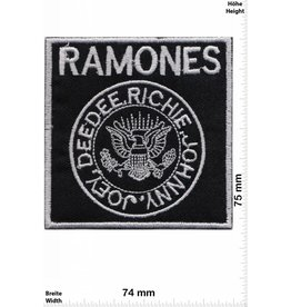 Ramones Ramones - DeeDee - Richie - Johnny - Joey - silver - Punk -Music