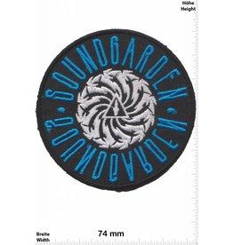 Soundgarden Soundgarden - silber blau- US Grunge-Band