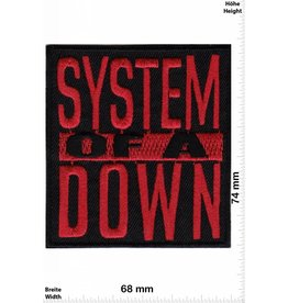 System of a Down System of Down - red - Alternative-Metal-Band