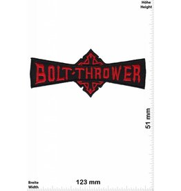 Bolt Thrower Bolt Thrower - rot - UK Death-Metal-Band